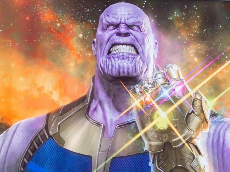 Hình ảnh Thanos giận dữ