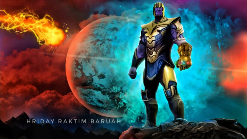 Hình ảnh Thanos kẻ ác nhân vũ trụ