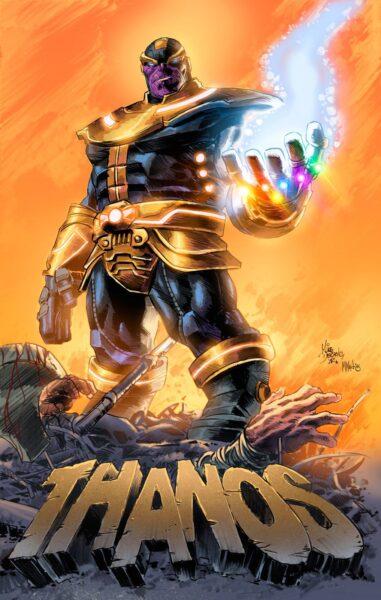 Hình ảnh Thanos mạnh mẽ