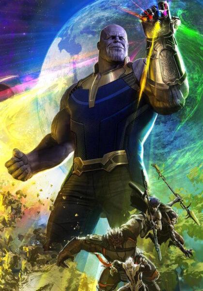 Hình ảnh Thanos ngầu
