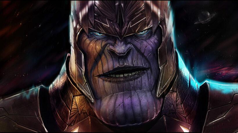 Hình ảnh Thanos to lớn mạnh mẽ