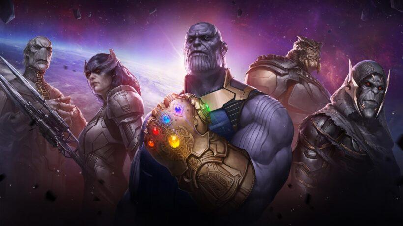 Hình ảnh Thanos trong game