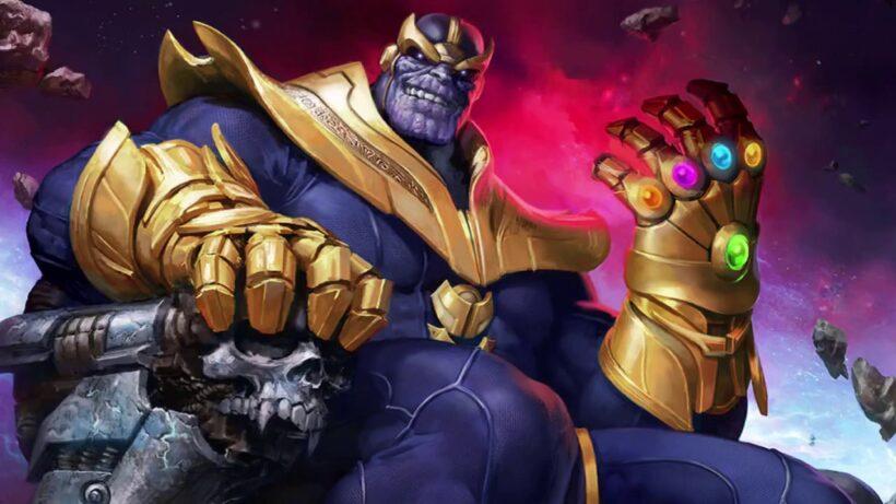 Hình ảnh Thanos và bàn tay vô cực