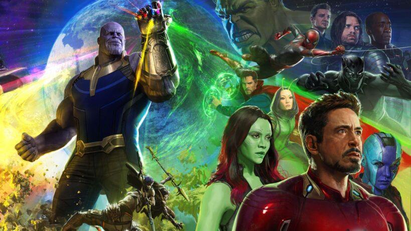 Hình ảnh Thanos và những siêu anh hùng