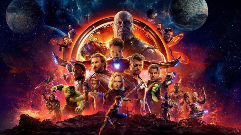 Hình ảnh Thanos và những siêu anh hùng vũ trụ