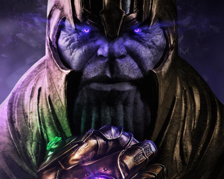 Hình ảnh Thanos và sức mạnh