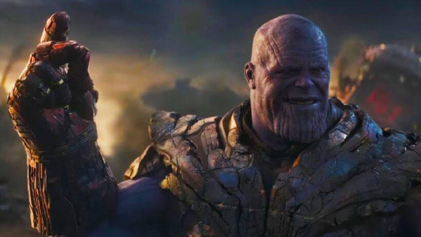 Hình ảnh Thanos với một cái búng tay