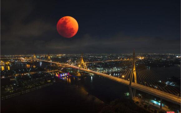 Hình ảnh trăng máu đẹp, độc đáo nhất