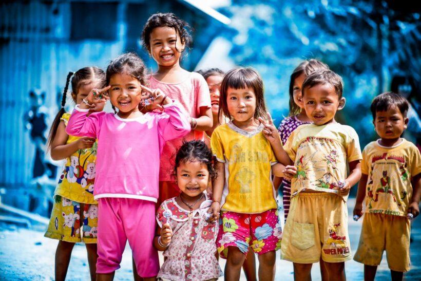 hình ảnh trẻ em nghèo Việt Nam