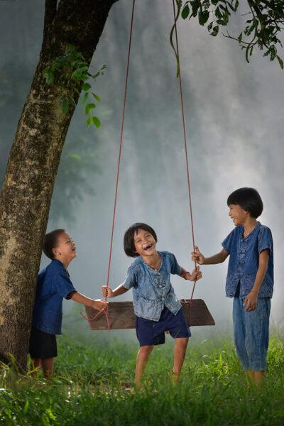 hình ảnh trẻ em nông thôn