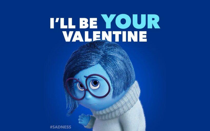 Hình ảnh Valentine buồn