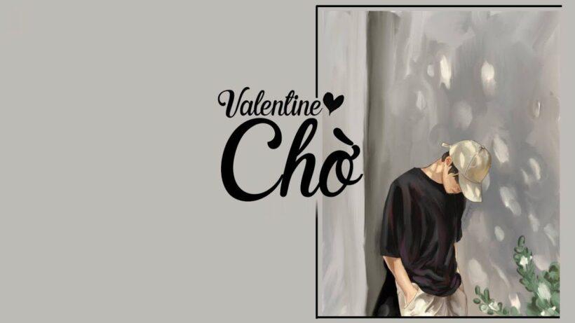 Hình ảnh Valentine buồn chờ đợi