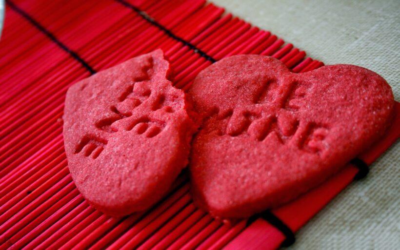 Hình ảnh Valentine buồn trái tim bị vỡ