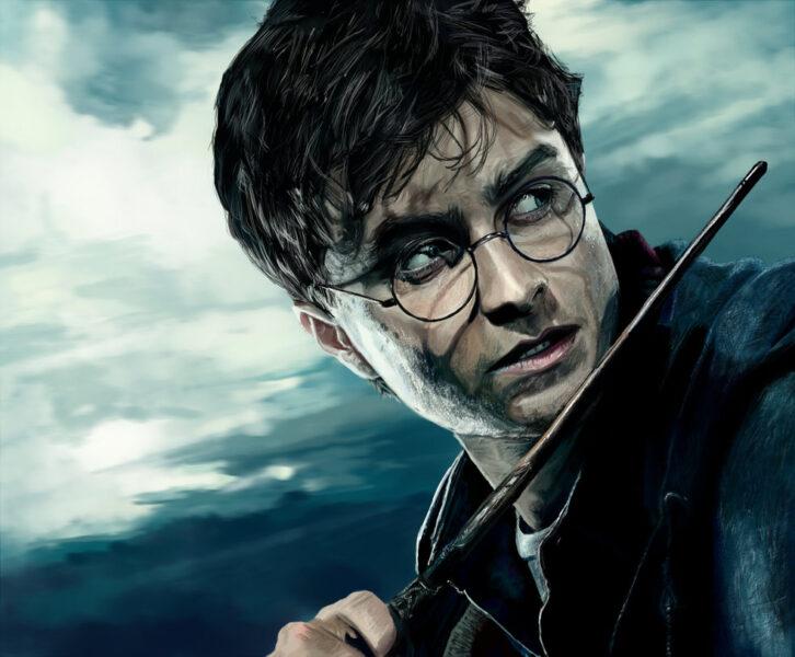 Hình ảnh vẽ Hary Potter