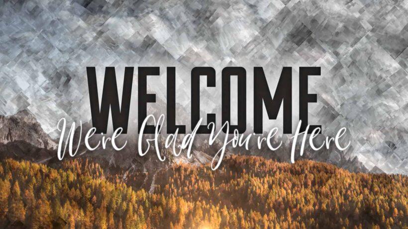 Hình ảnh Welcome cực chất