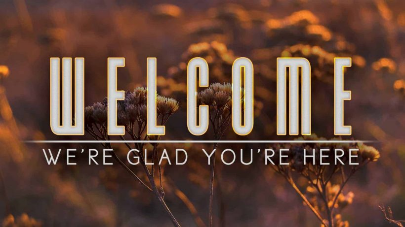 Hình ảnh Welcome cực đẹp