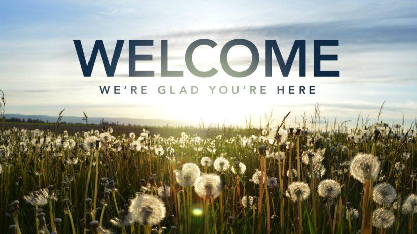 Hình ảnh Welcome cực đẹp cho bài thuyết trình