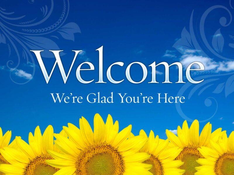 Hình ảnh Welcome đẹp