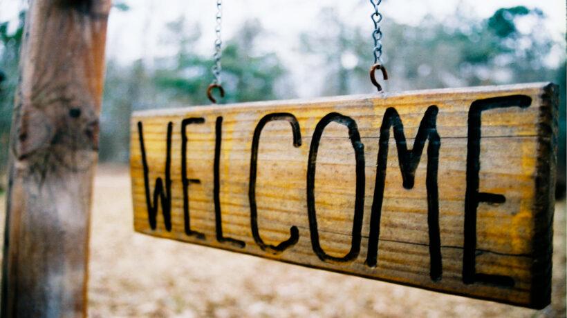 Hình ảnh Welcome đẹp, cực chất