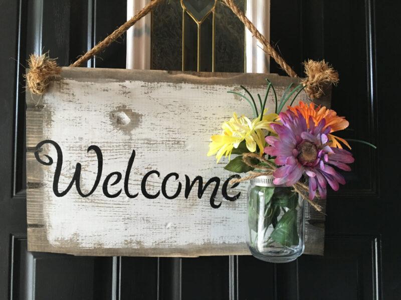Hình ảnh Welcome đẹp, dễ thương