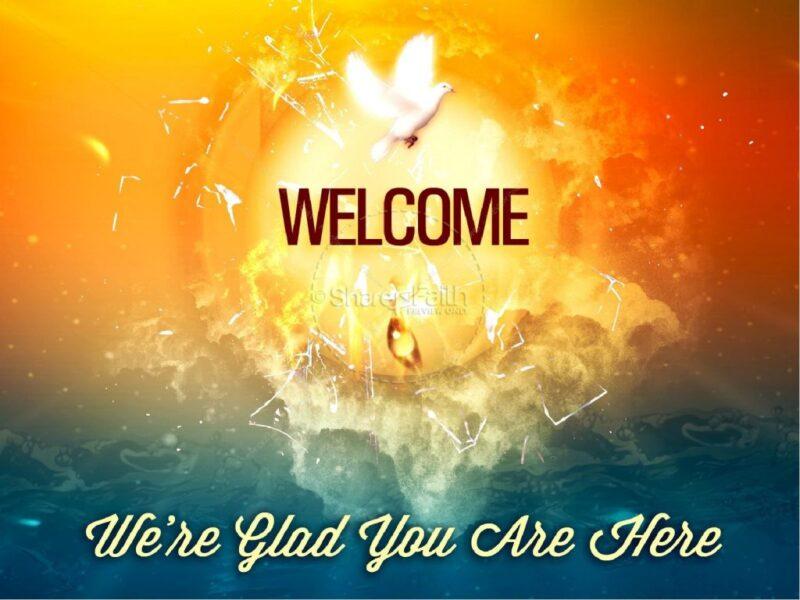Hình ảnh Welcome đẹp, độc