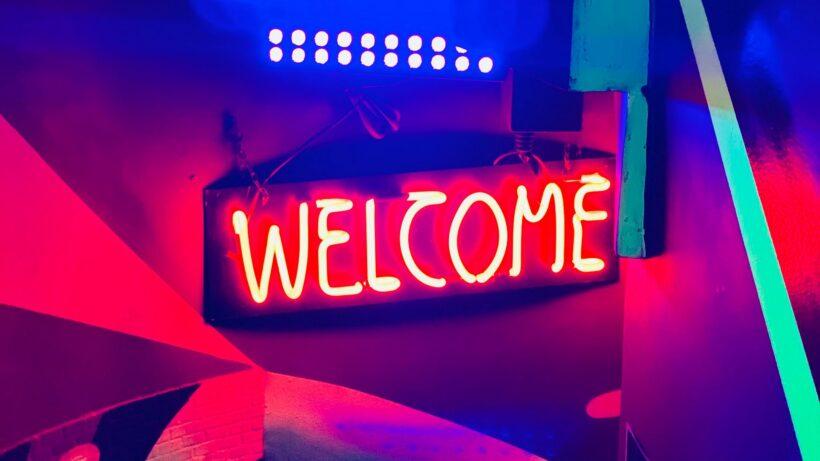 Hình ảnh Welcome đẹp mở đầu cho bài thuyết trình