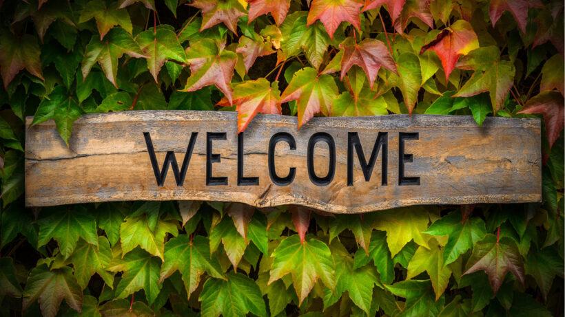 Hình ảnh Welcome đẹp mở đầu ppt