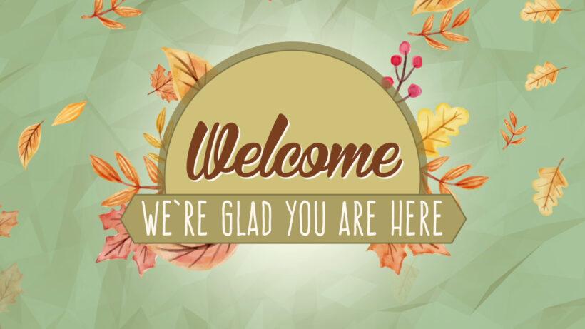 Hình ảnh Welcome đẹp nhất