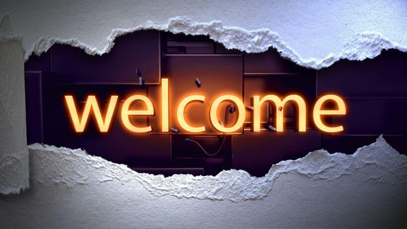 Hình ảnh Welcome đẹp và ấn tượng cho PPt
