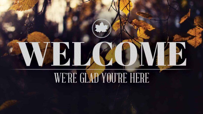 Hình ảnh Welcome siêu ấn tượng