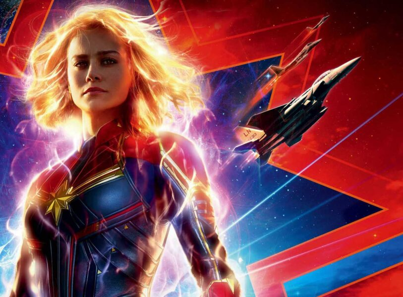 Hình Captain Marvel cực đẹp