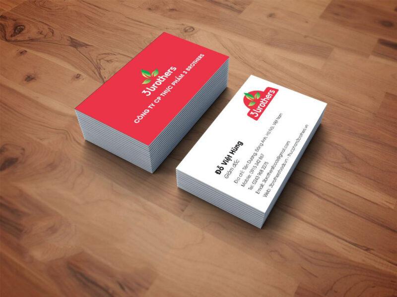 Hình card visit cho công ty