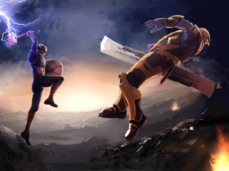 Hình đẹp về Thanos