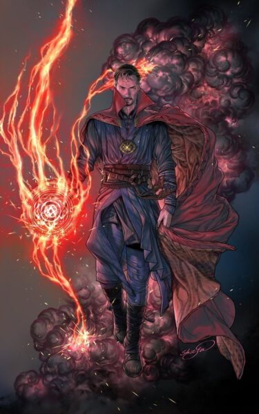 Hình Doctor Strange ngầu