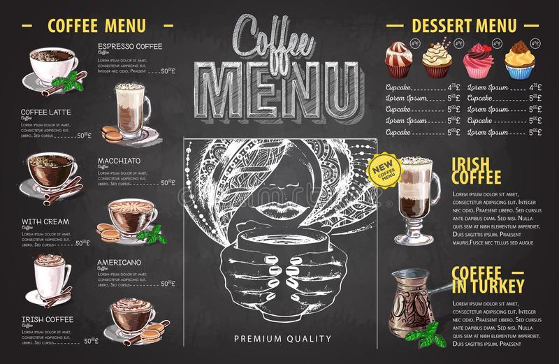 Hình menu cafe đẹp, độc đáo