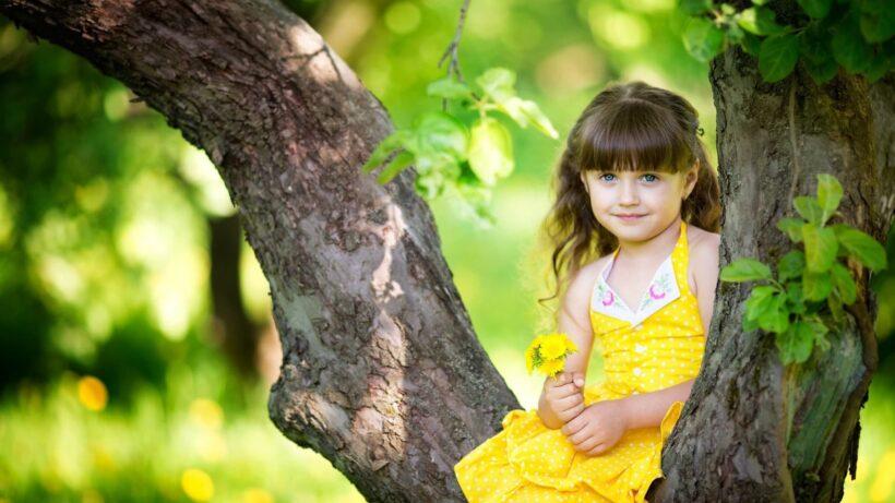 Hình nền bé gái cute, dễ thương
