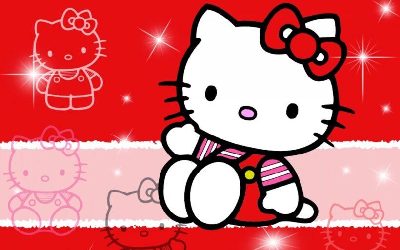 Hình nền Hello Kitty đẹp rực rỡ