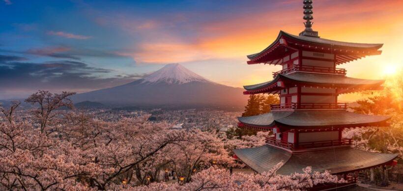 Hình nền Nhật Bản full HD - mùa hoa Anh Đào