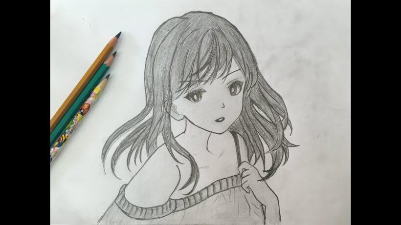 Hình vẽ anime buồn