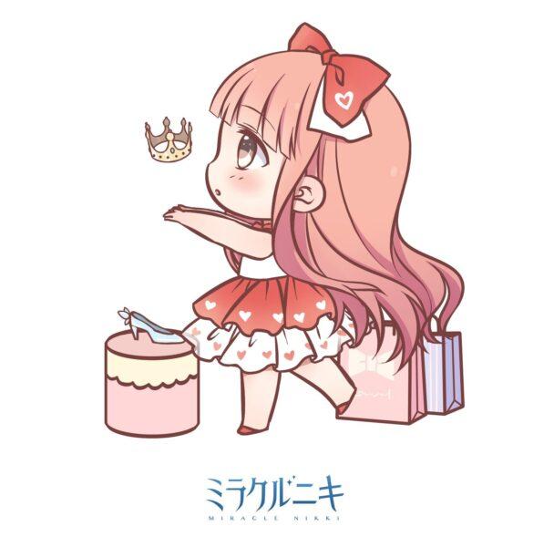 Hình vẽ anime chibi dễ thương, cute