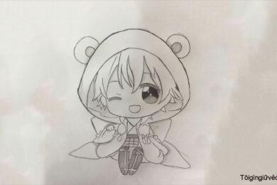 Cách vẽ Chibi đơn giản, dễ thương nhất