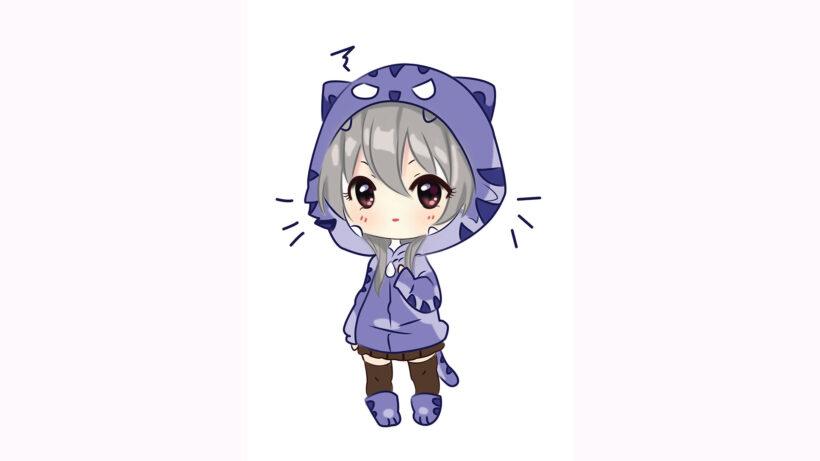 Hình vẽ Chibi siêu cute