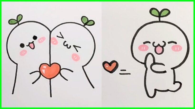 Hình vẽ đơn giản, dễ thương nhất