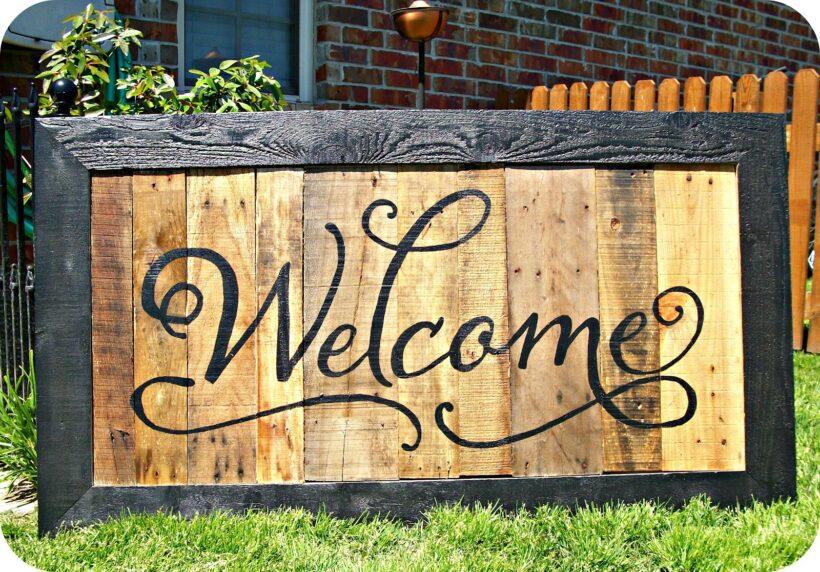 Hình Welcome cực đẹp