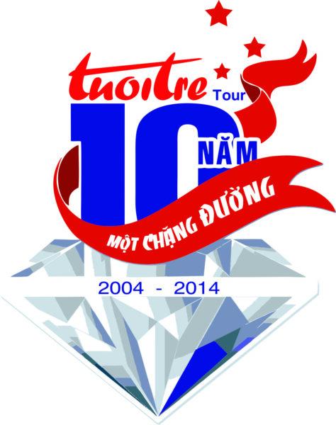 logo kỉ niệm 10 năm một chặng đường đẹp