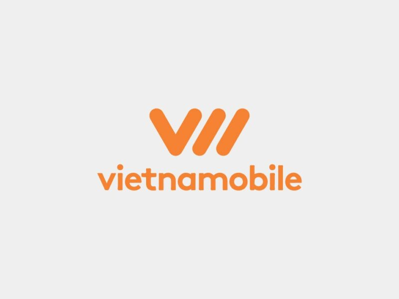 Logo Vietnamobile màu cam