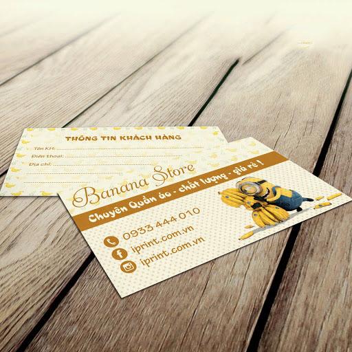 Mẫu card visit bán hàng online