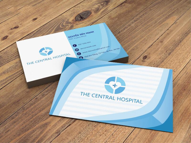Mẫu card visit dành cho bác sĩ phụ khoa