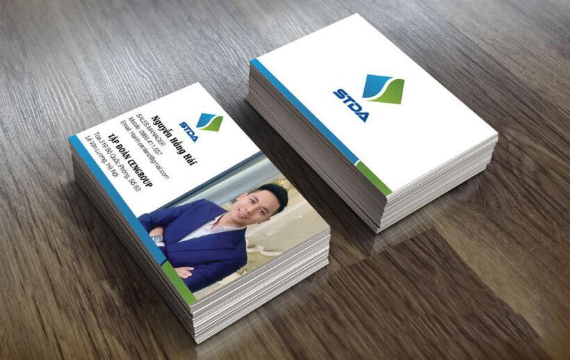 Mẫu card visit giám đốc kinh doanh bất động sản, xây dựng