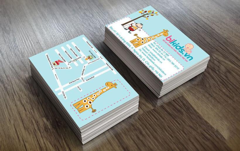 Mẫu card visit thời trang mẹ và bé